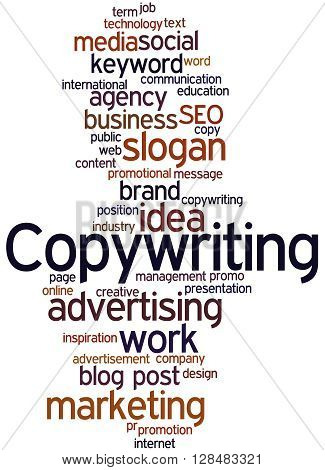 Copywriting, Word Cloud Concept 5