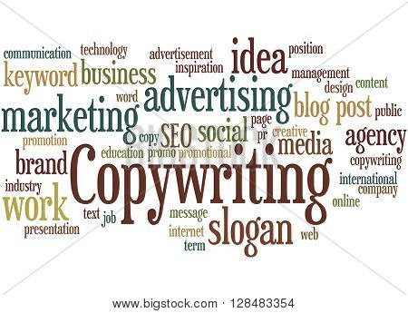 Copywriting, Word Cloud Concept 8