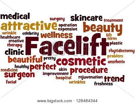 Facelift, Word Cloud Concept 7