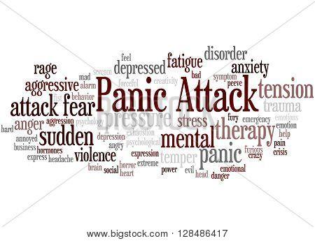 Panic Attack, Word Cloud Concept 8