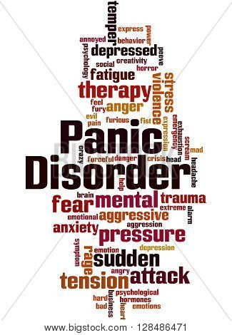 Panic Disorder, Word Cloud Concept 8