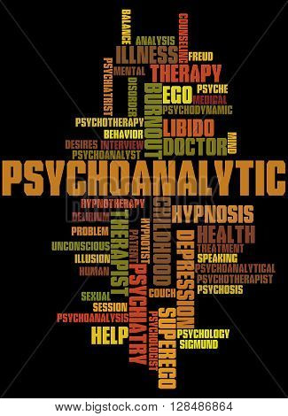 Psychoanalytic, Word Cloud Concept 7