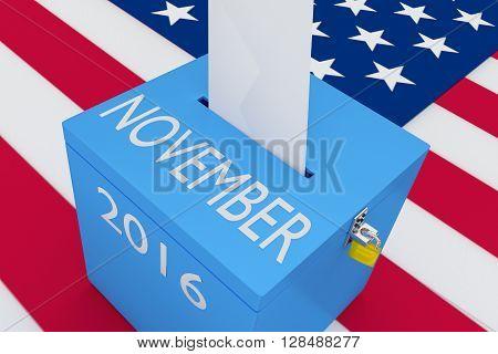 November 2016 Election Concept