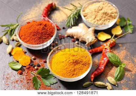 assorted spice