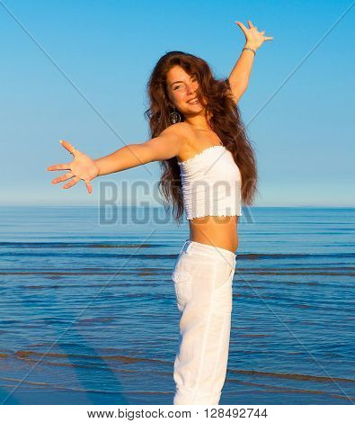 Laughter Outdoor Woman