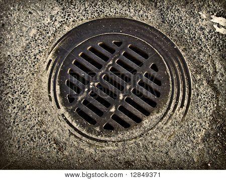 Grungy sewer