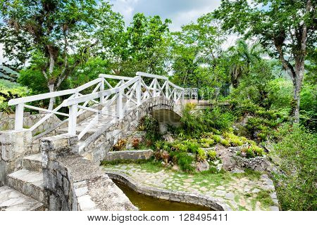 The Soroa Orchid Botanical Garden in western Cuba