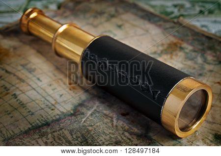 Brass Spyglass