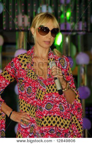 Russian pop star, singer Kristina Orbakaite