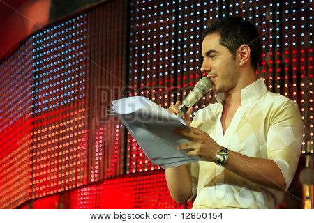 Russian TV presenter and actor Timur Rodriguez