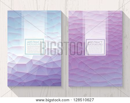 Pastel modern lavender colour background set. Trendy background pastel colours.