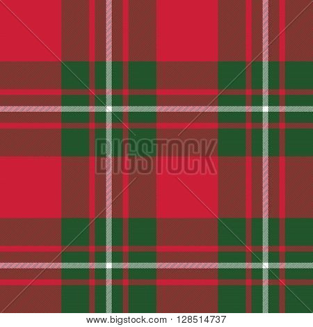 Macgregor tartan kilt fabric textile seamless pattern.Vector illustration. EPS 10. No transparency. No gradients.