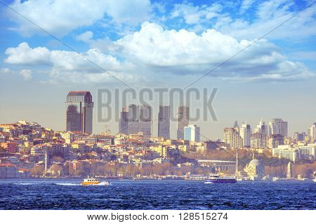 view of istambul city, Turkey