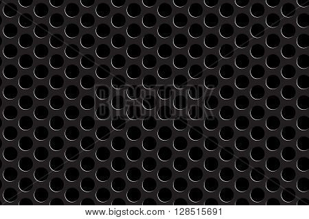 Metal grill seamless pattern. Vector illustration. EPS 10.