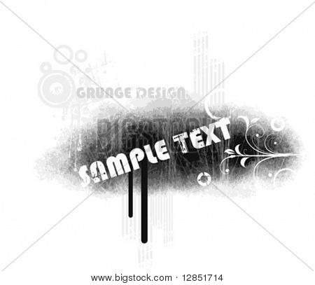 Abstract grunge illustration for background.