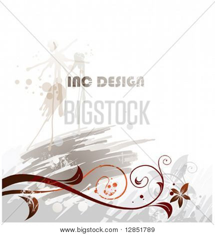 Beautiful inc vector for best design.