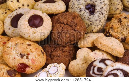Small Butter Tea Cookies Collection