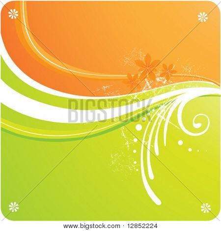 Abstract vector background for design.