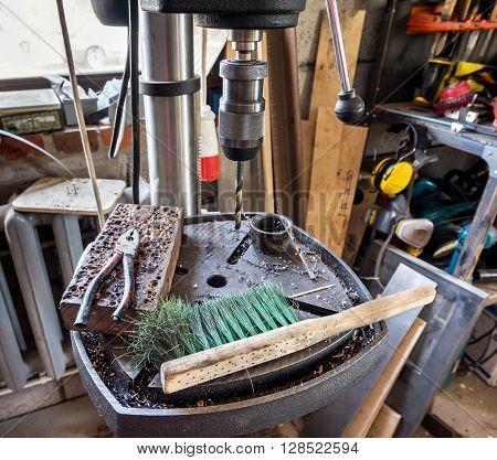 Electric Drill Press