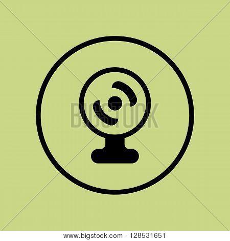 Web Camera Icon In Vector Format. Premium Quality Web Camera Symbol. Web Graphic Web Camera Sign On