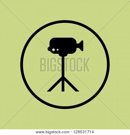 Video Camera Icon In Vector Format. Premium Quality Video Camera Symbol. Web Graphic Video Camera Si