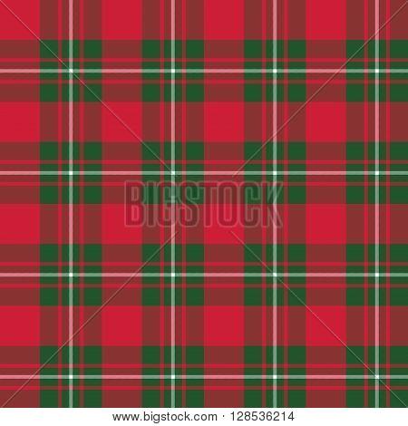 Macgregor tartan seamless pattern background.Vector illustration. EPS 10. No transparency. No gradients.