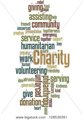 Charity, Word Cloud Concept 3