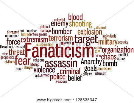 Fanaticism, Word Cloud Concept