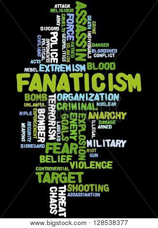 Fanaticism, Word Cloud Concept 3