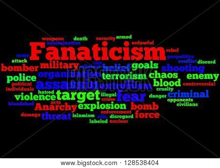 Fanaticism, Word Cloud Concept 5
