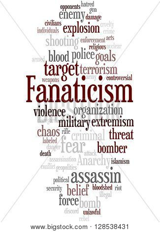 Fanaticism, Word Cloud Concept 7