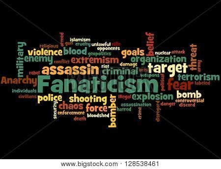 Fanaticism, Word Cloud Concept 9