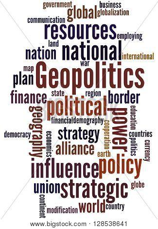 Geopolitics, Word Cloud Concept 3