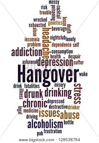 Hangover, Word Cloud Concept 2