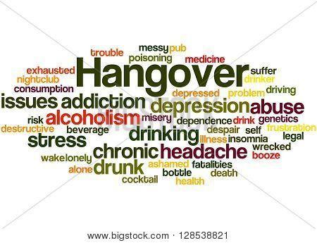 Hangover, Word Cloud Concept 6