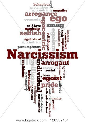 Narcissism, Word Cloud Concept 9
