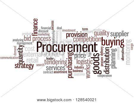 Procurement, Word Cloud Concept 5