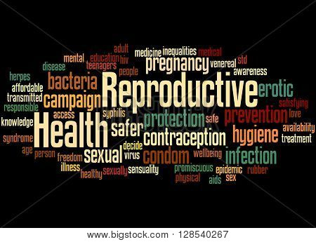 Reproductive Health, Word Cloud Concept 2