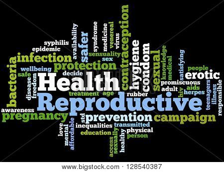 Reproductive Health, Word Cloud Concept 9