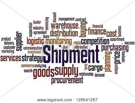 Shipment, Word Cloud Concept 2