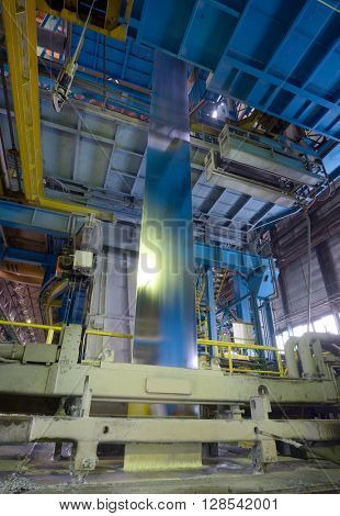 Galvanizing steel. Production of zinc-coated steel