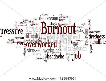 Burnout, Word Cloud Concept 9