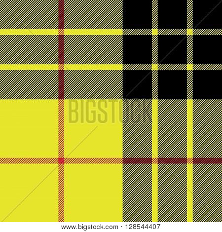 Macleod tartan kilt fabric texture seamless pattern.Vector illustration. EPS 10. No transparency. No gradients.