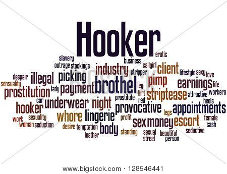 Hooker, Word Cloud Concept 3