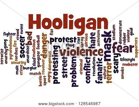 Hooligan Word Cloud, Word Cloud Concept 7