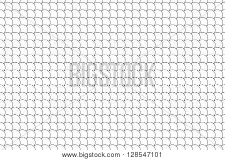 seamless pattern diagonal fish scales background .Vector illustration. EPS 10.