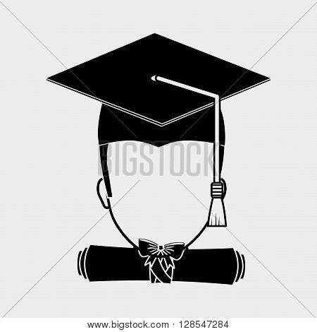 University concept with icon design, vector illustration 10 eps graphic.