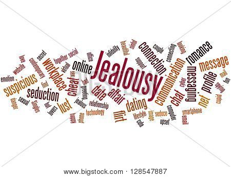 Jealousy, Word Cloud Concept 4