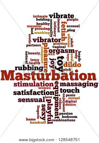 Masturbation, Word Cloud Concept 8