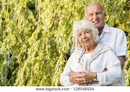 Couple Cuddling Tenderly